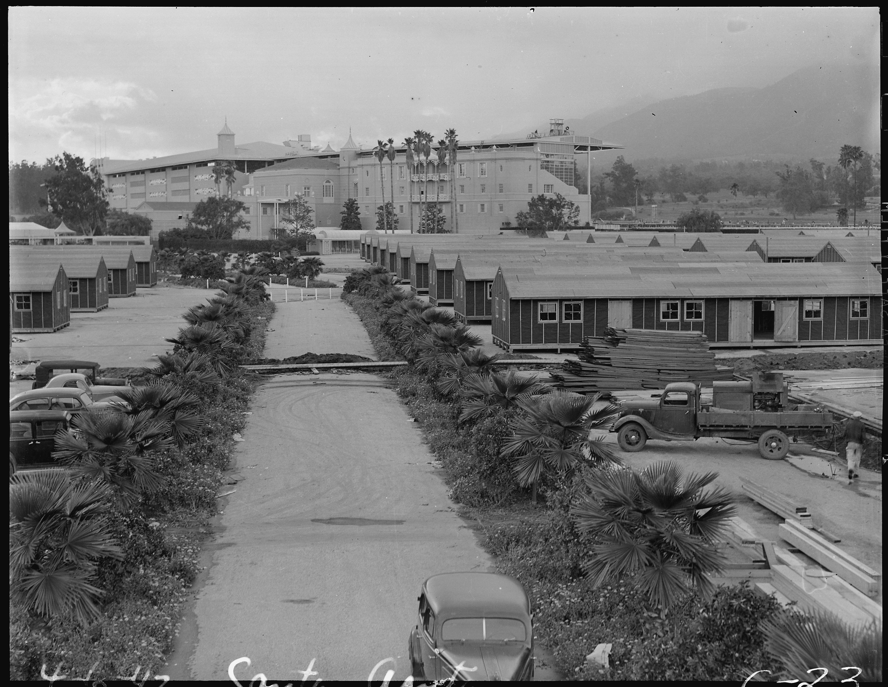 File arcadia california barrack apartments on the former for House of tracks