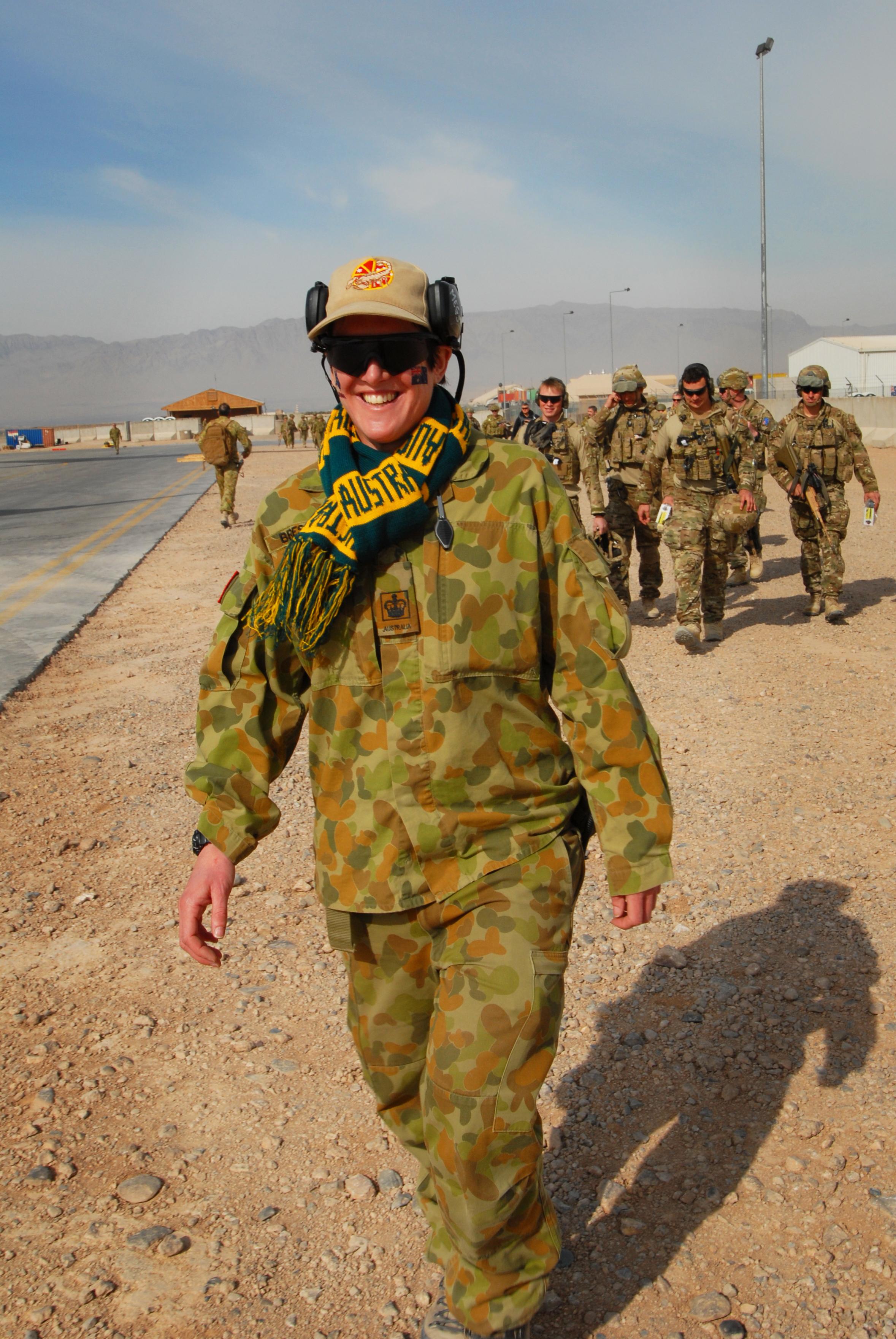 File:Australian WO2 celebrating Australia Day 2013 in Afghanistan