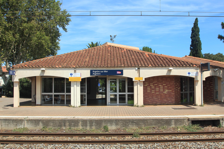 Gare d'Argelès-sur-Mer — Wikipédia
