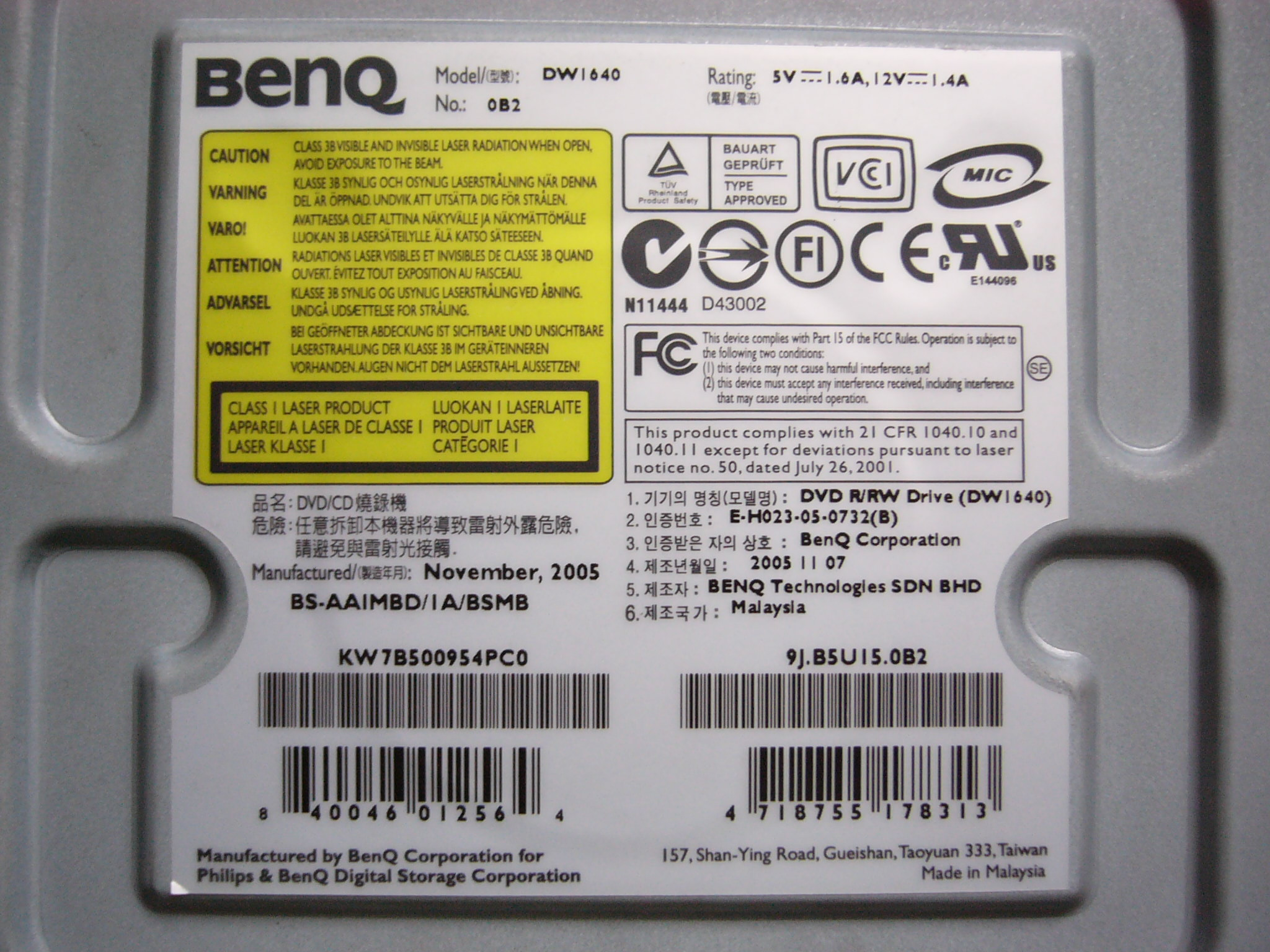BENQ DW 1640 WINDOWS 7 DRIVERS DOWNLOAD