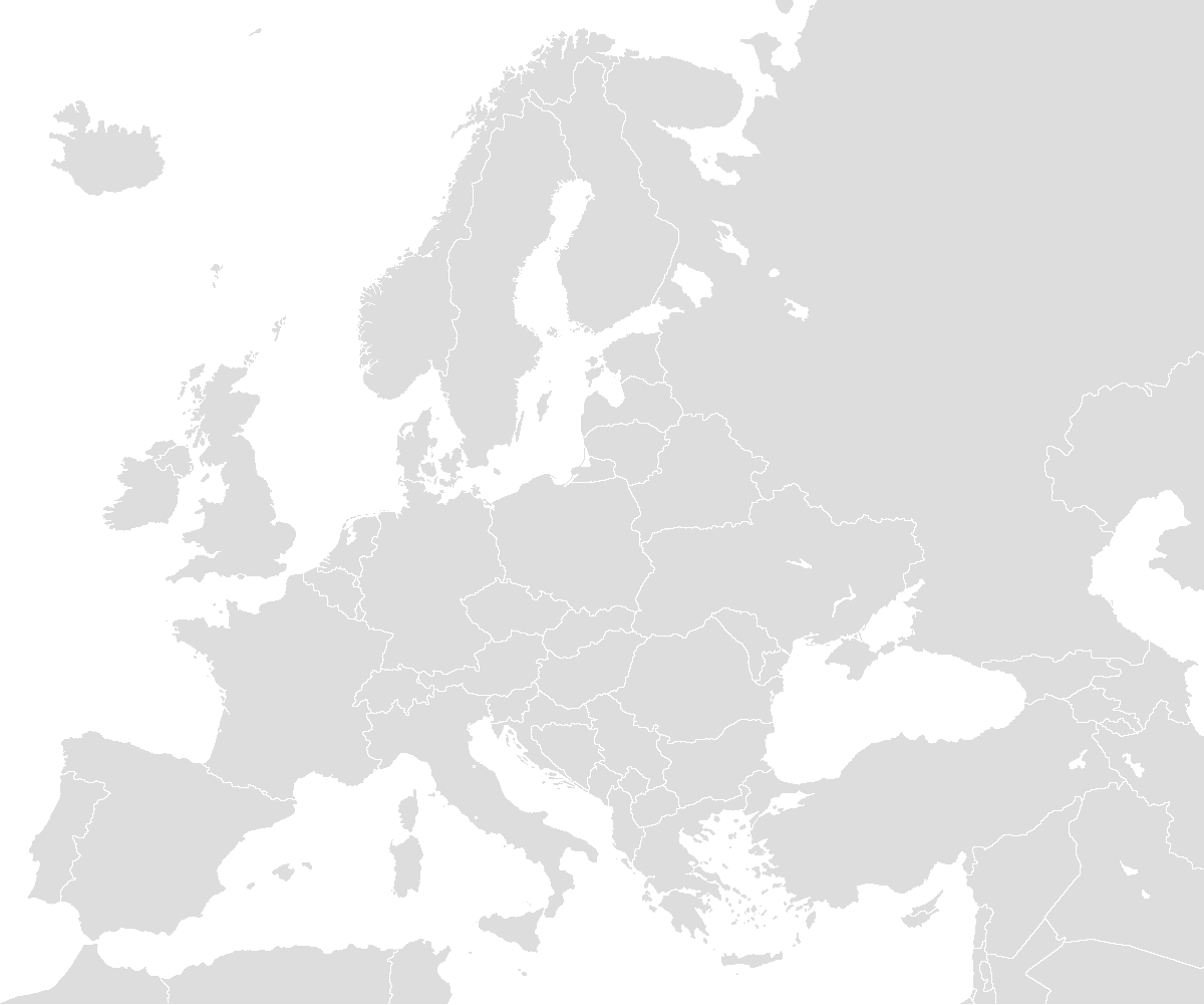 Picture of: File Blank Map Europe With Borders Png Wikimedia Commons