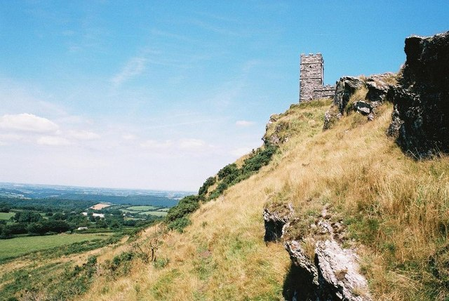 Brent Tor, western face - geograph.org.uk - 583002