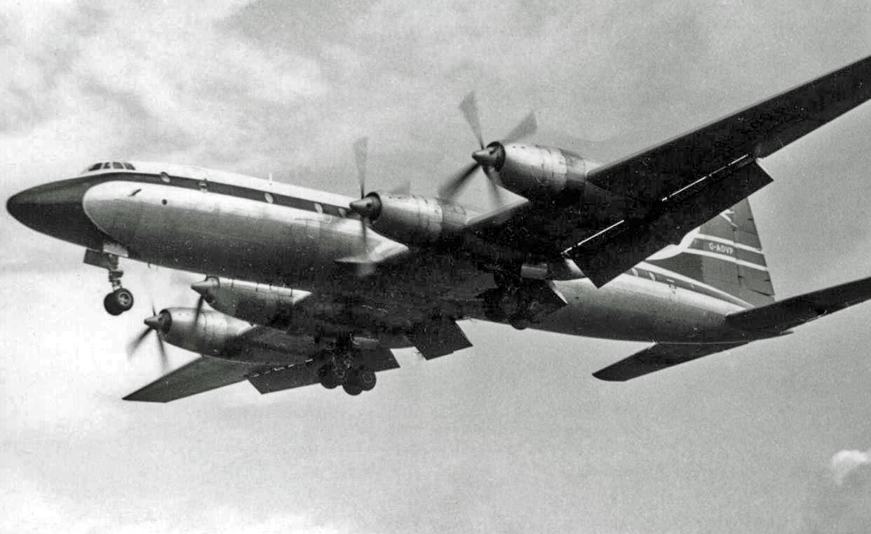 File:Bristol 175 Britannia 312 G-AOVP BA RWY 15.12.59 ...