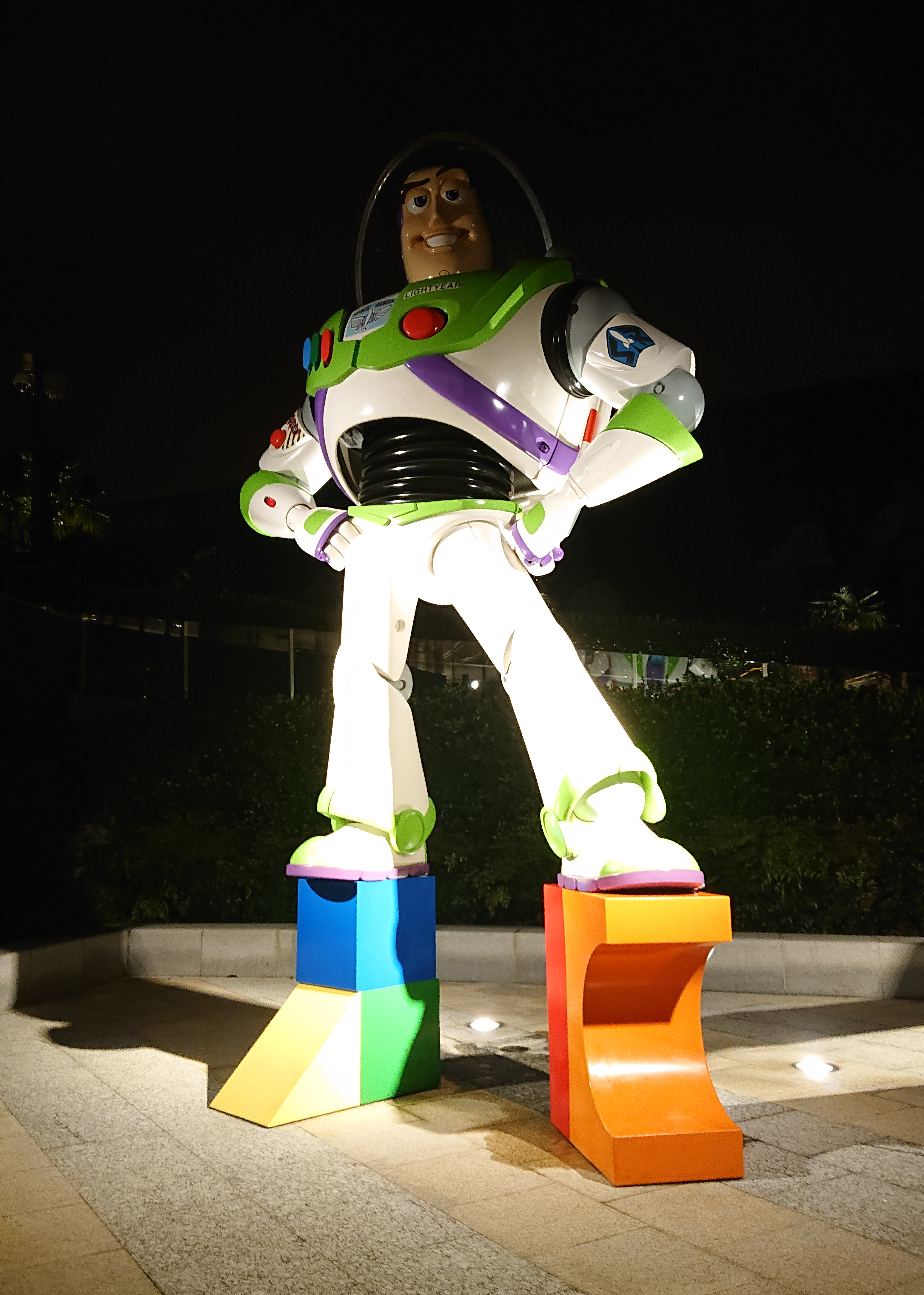 Buzz Lightyear sculpture of Toy Story Hotel Shanghai.jpg