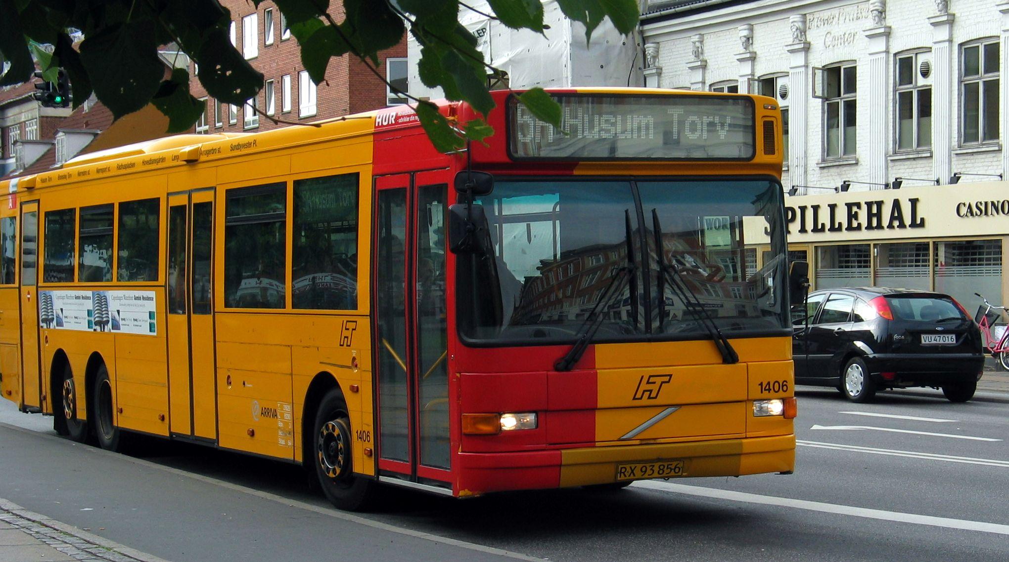 bus rundt i københavn