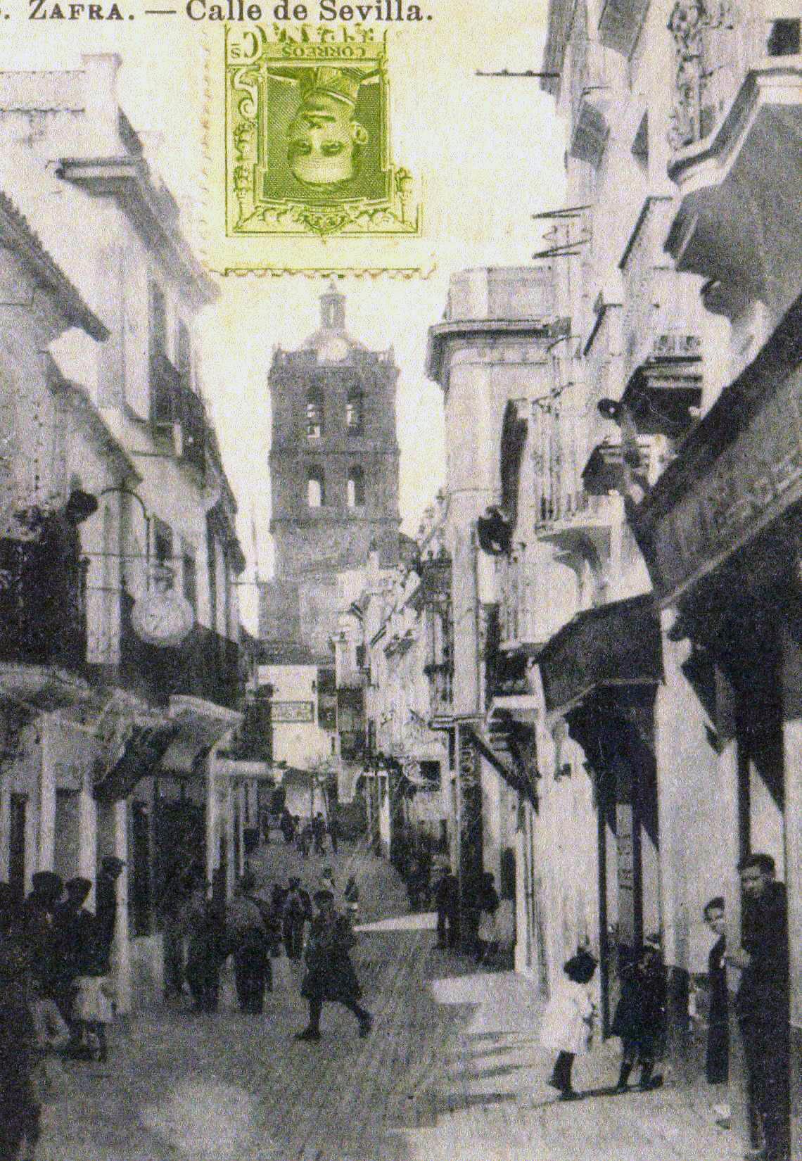 File calle sevilla principios del siglo - Calle correduria sevilla ...
