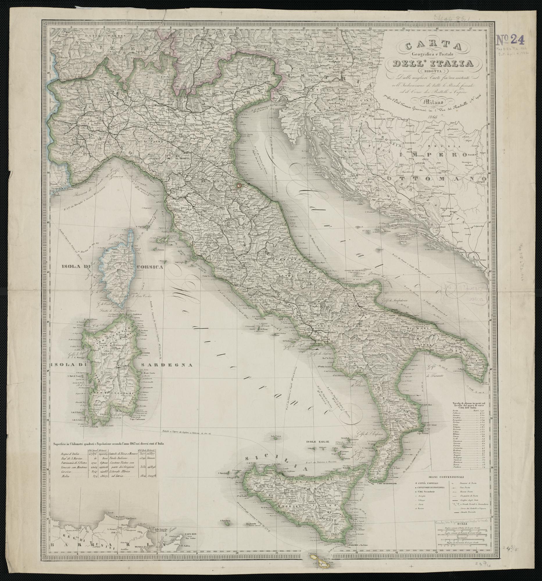 Cartina Geografica Italia Hd.File Carta Geografica E Postale Dell Italia Ridotta Dalle Migliori Carte Fin Ora Esistenti Coll 2674793655 Jpg Wikimedia Commons