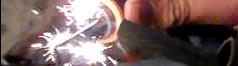 铈铁合金在借由摩擦后可引起火星,常作为打火石的主要成分。