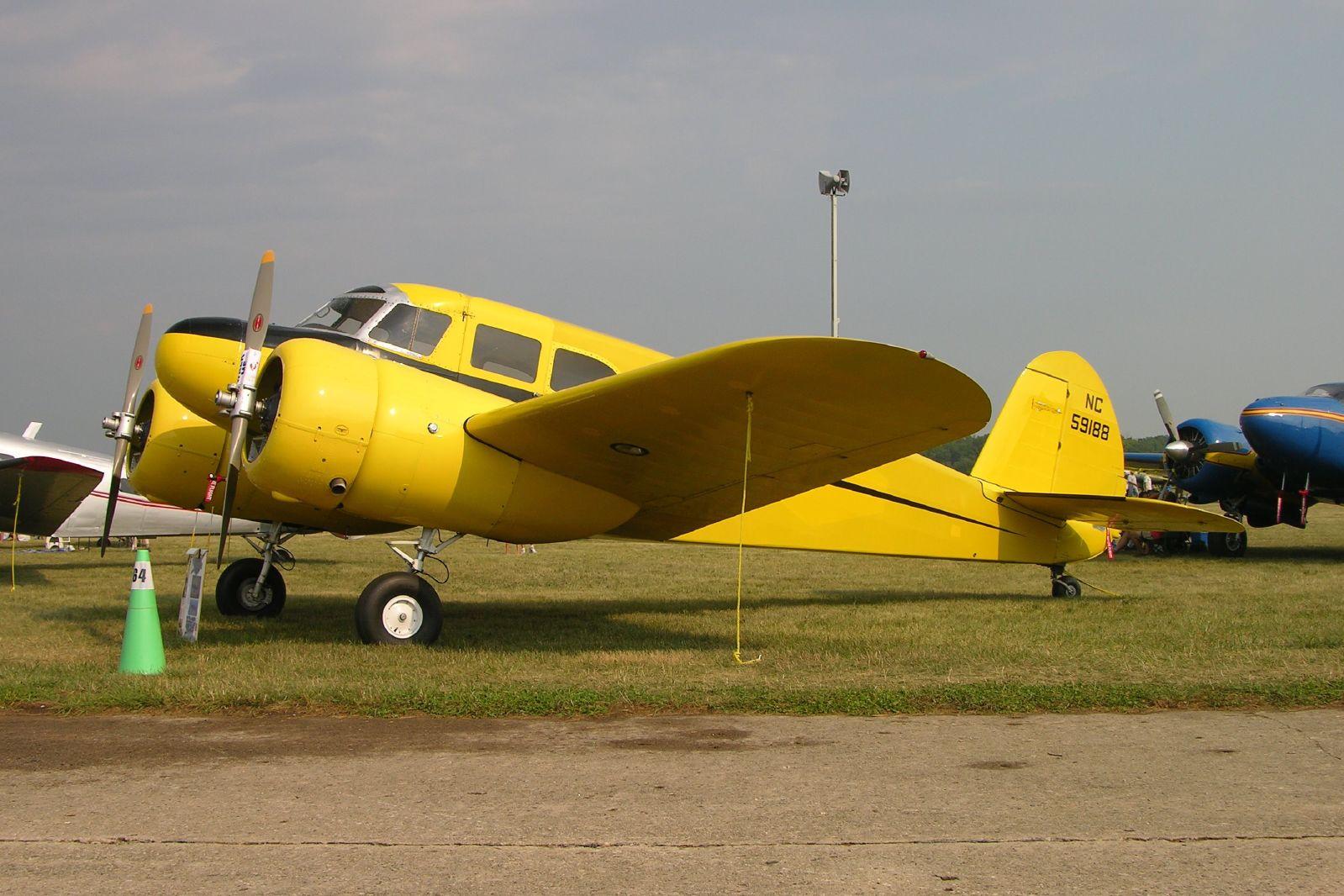 File Cessna T 50 Bobcat Nc59188 Cn 3084 Jpg