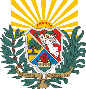 Depiction of Escudo de armas del estado Aragua