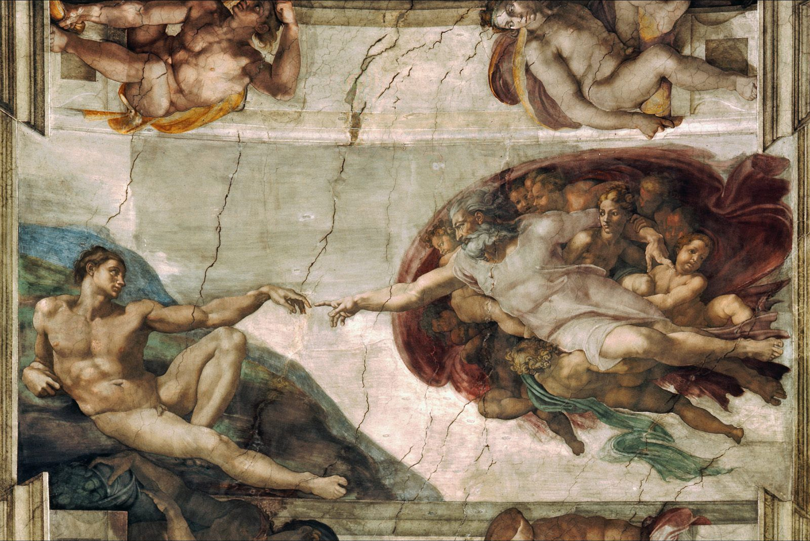 File:Creation of Adam Michelangelo.jpg - Wikimedia Commons
