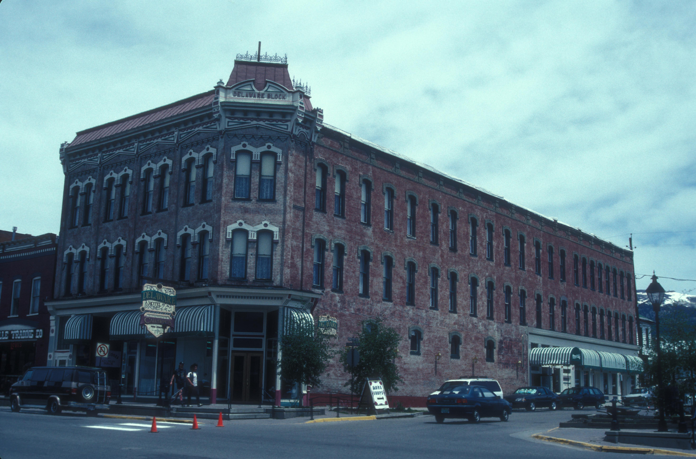 File Delaware Block And Hotel Leadville Historic District Colorado Jpg
