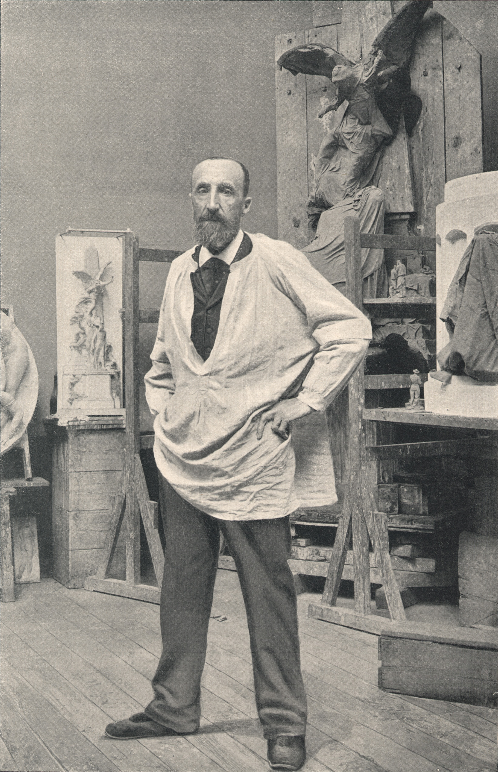 Depiction of Jules Dalou