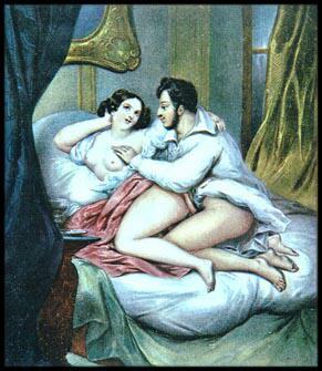 Gemälde von Achille Devéria (1800-1857)