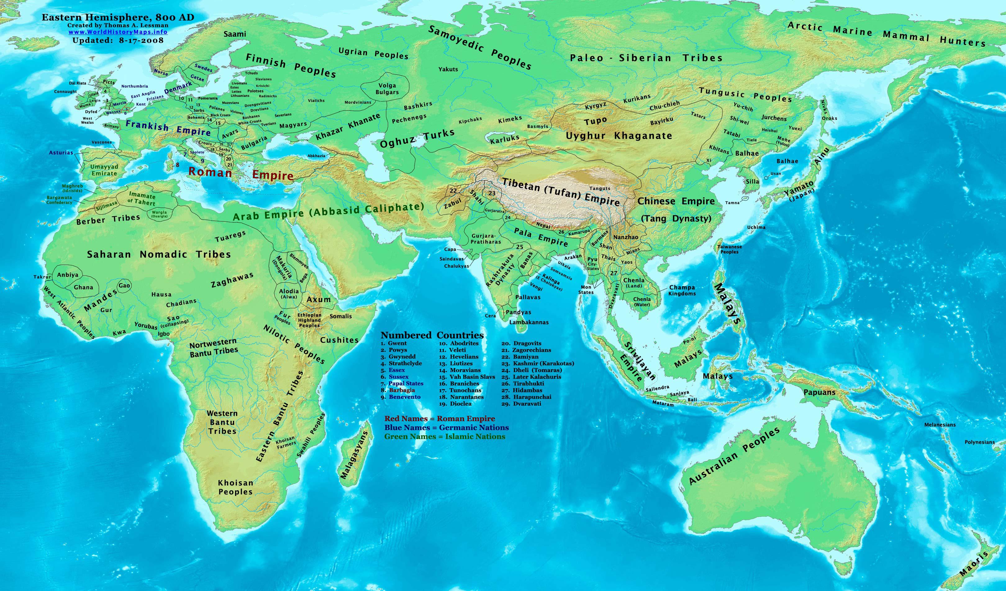 9th century Wikipedia