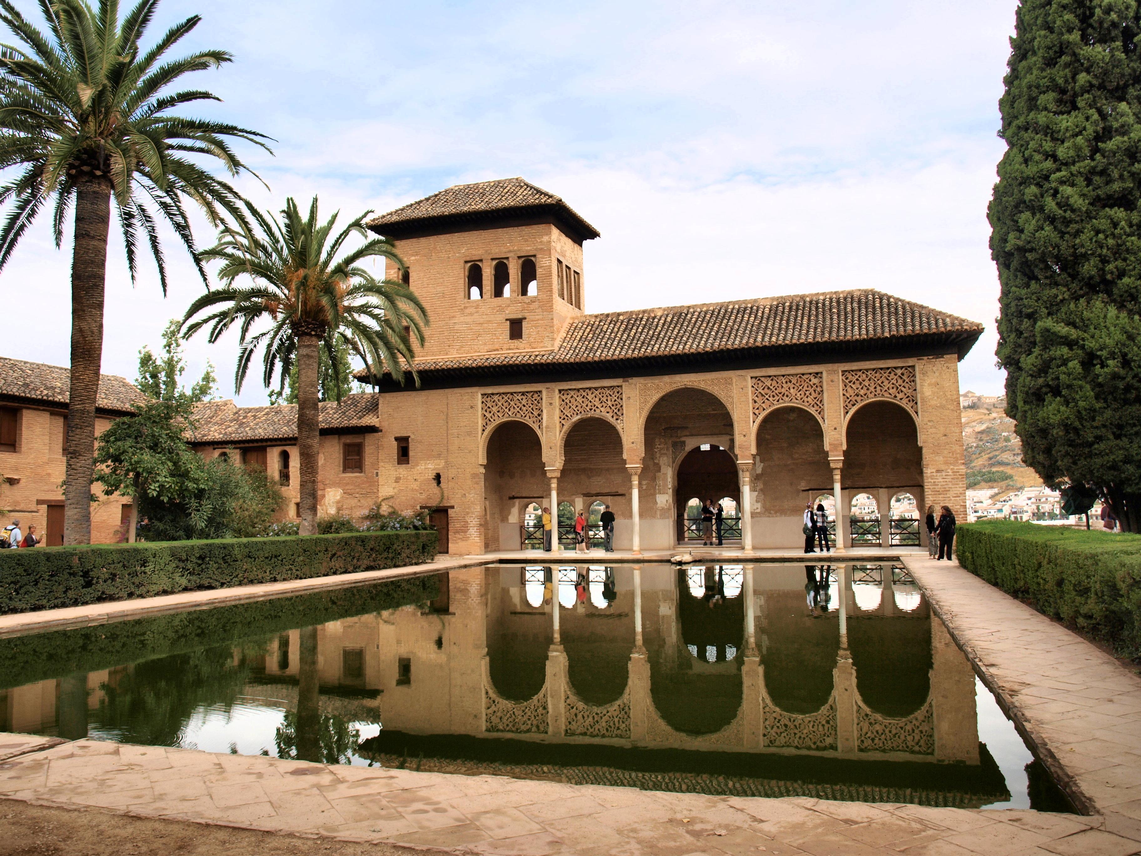 File el partal palace alhambra spain jpg wikimedia commons for Ciudad jardin granada