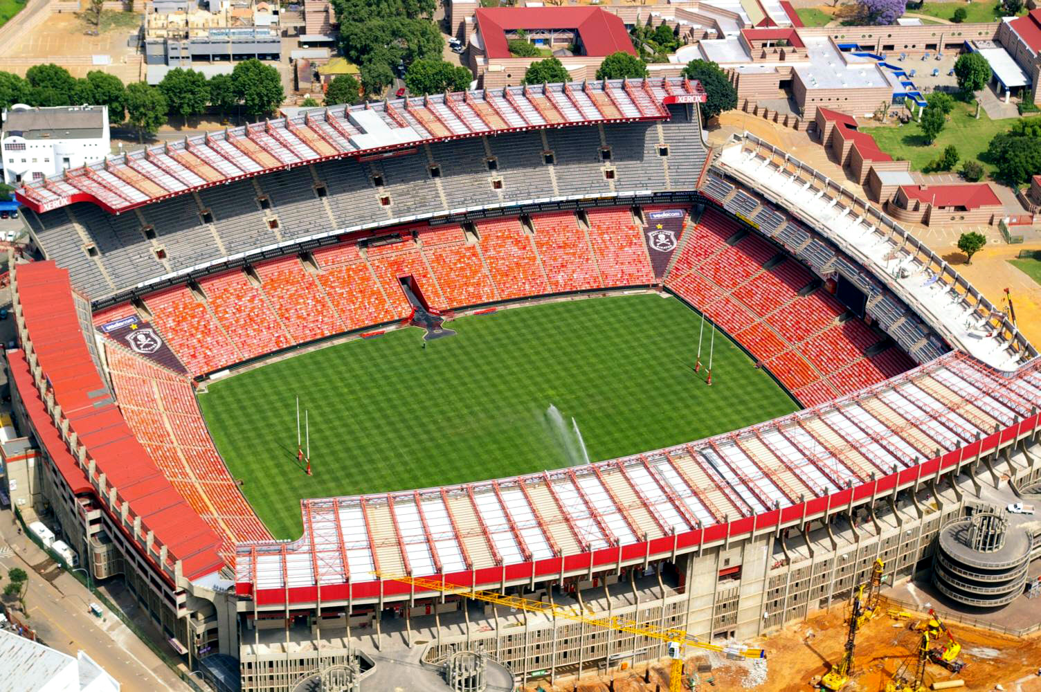 Depiction of Estadio Ellis Park