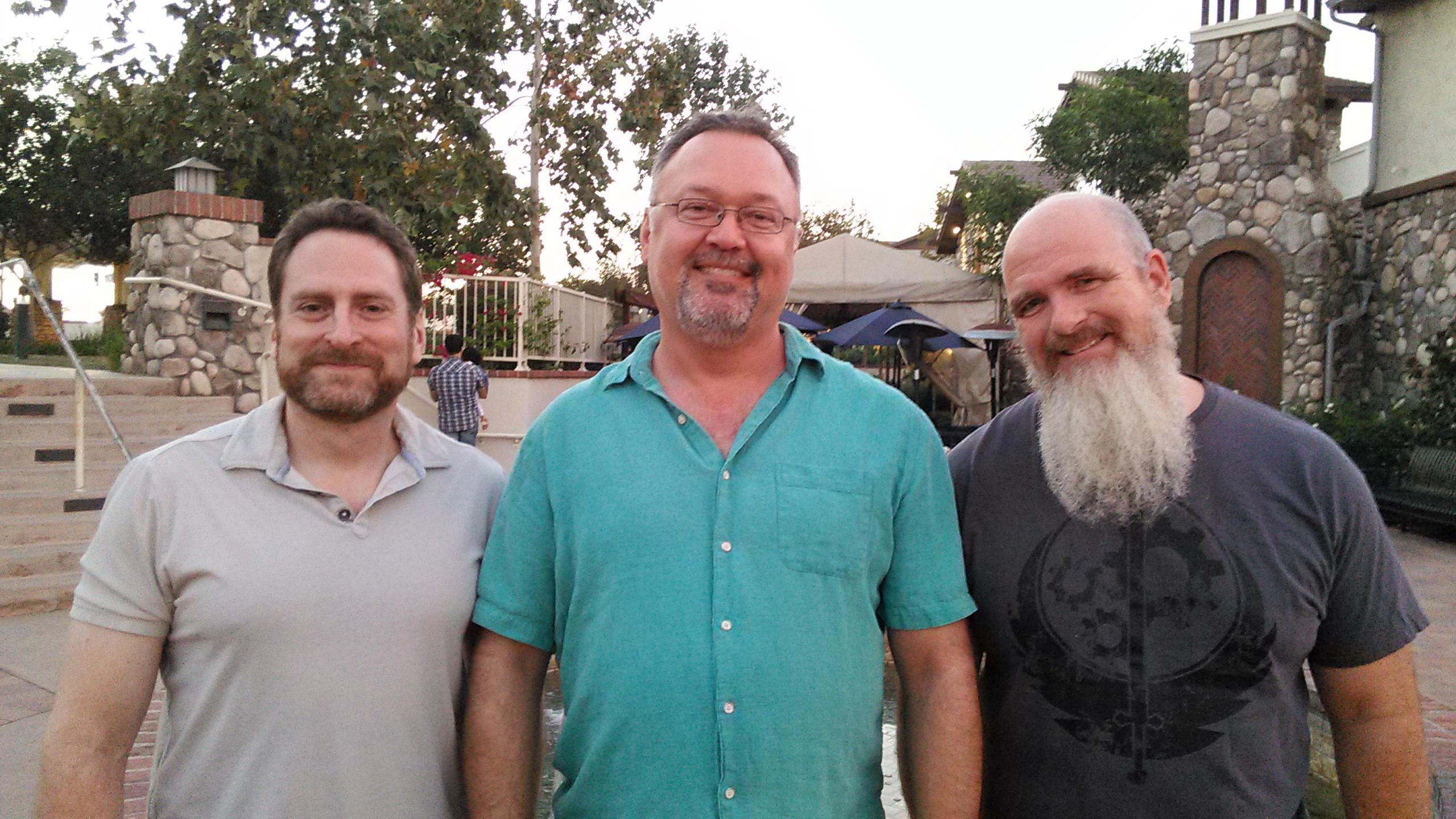 Kết quả hình ảnh cho Tim Cain, Leonard boyarsky and Jason Anderson