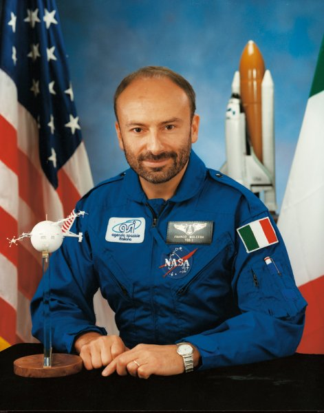 ESA astronaut Franco Malerba PhD, NASA photo Source: Wikipedia (www.jsc.nasa.gov unavailable October 2019) Franco_Malerba.jpg