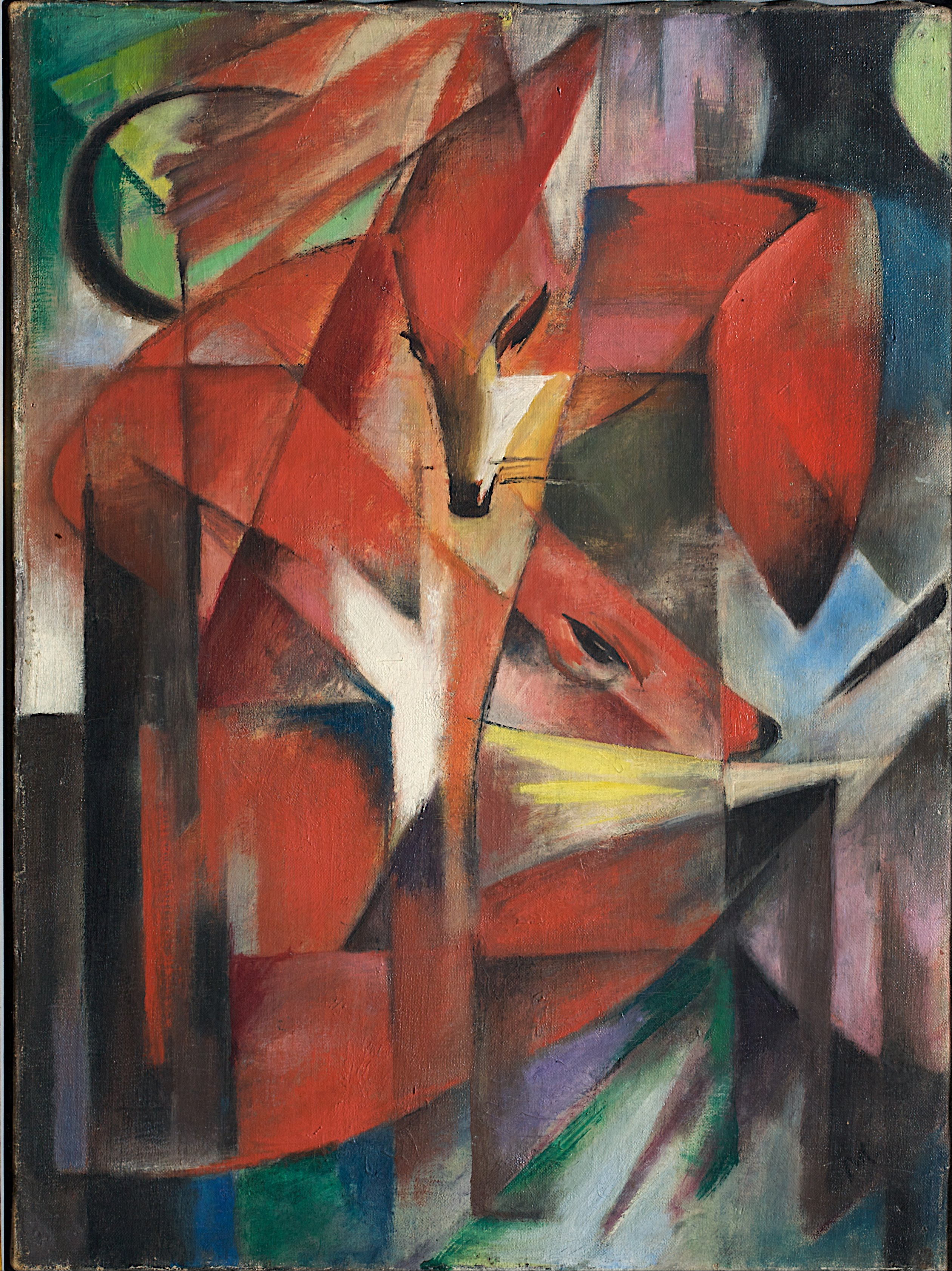 Franz Marc - Page 3 Franz_Marc_-_The_Foxes_-_Google_Art_Project