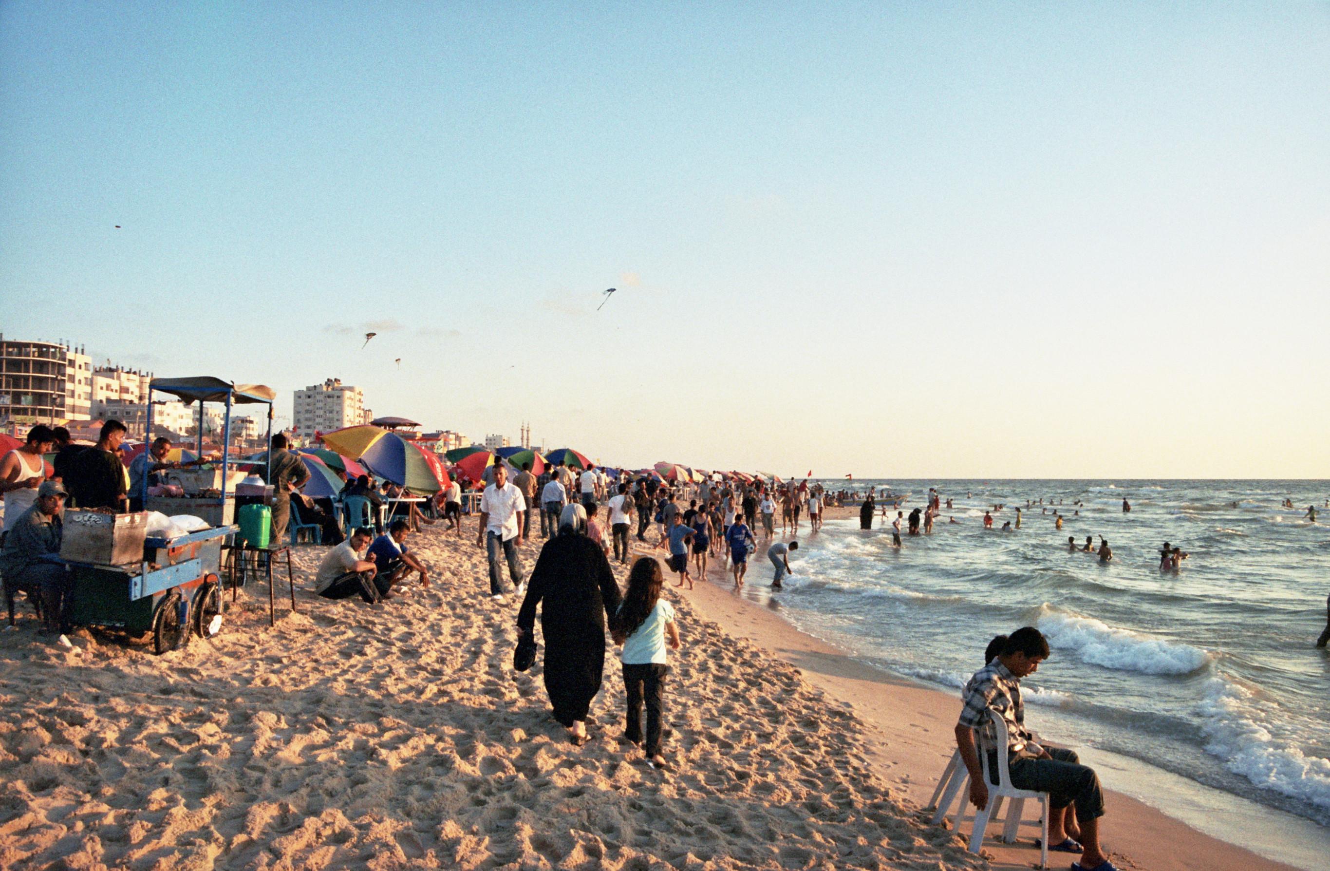 עזה Photo: File:Gaza Beach.jpg