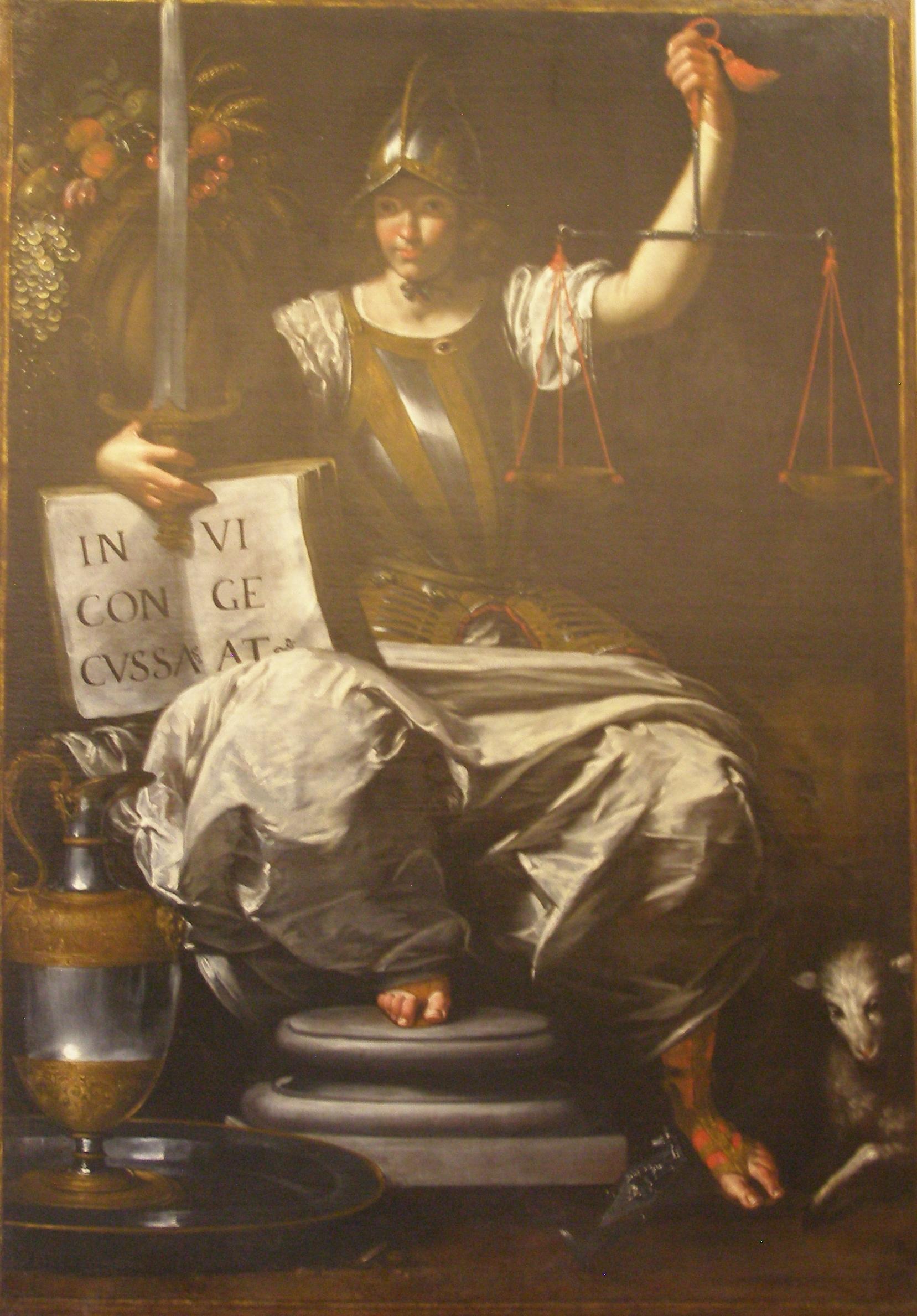 File Giovanni Andrea De Ferrari Allegoria Della Giustizia