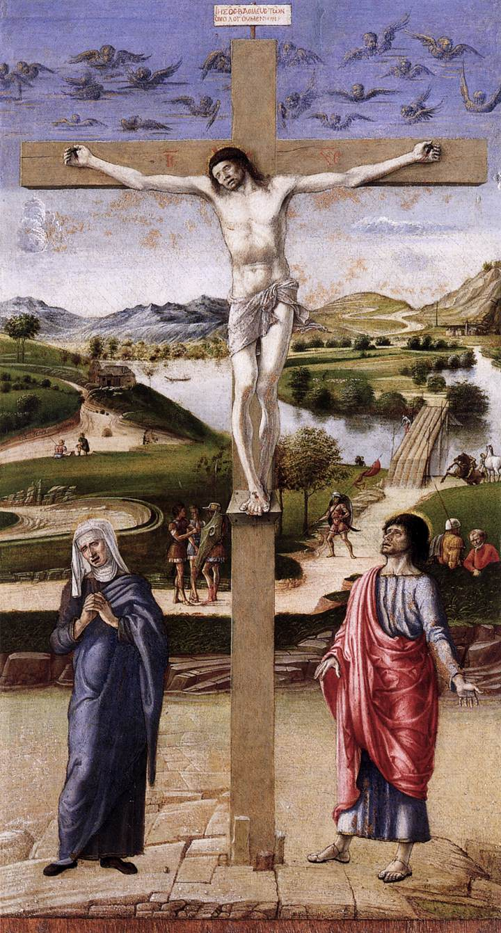 Image result for Jacopo Bellini's Crucifixion correr museum