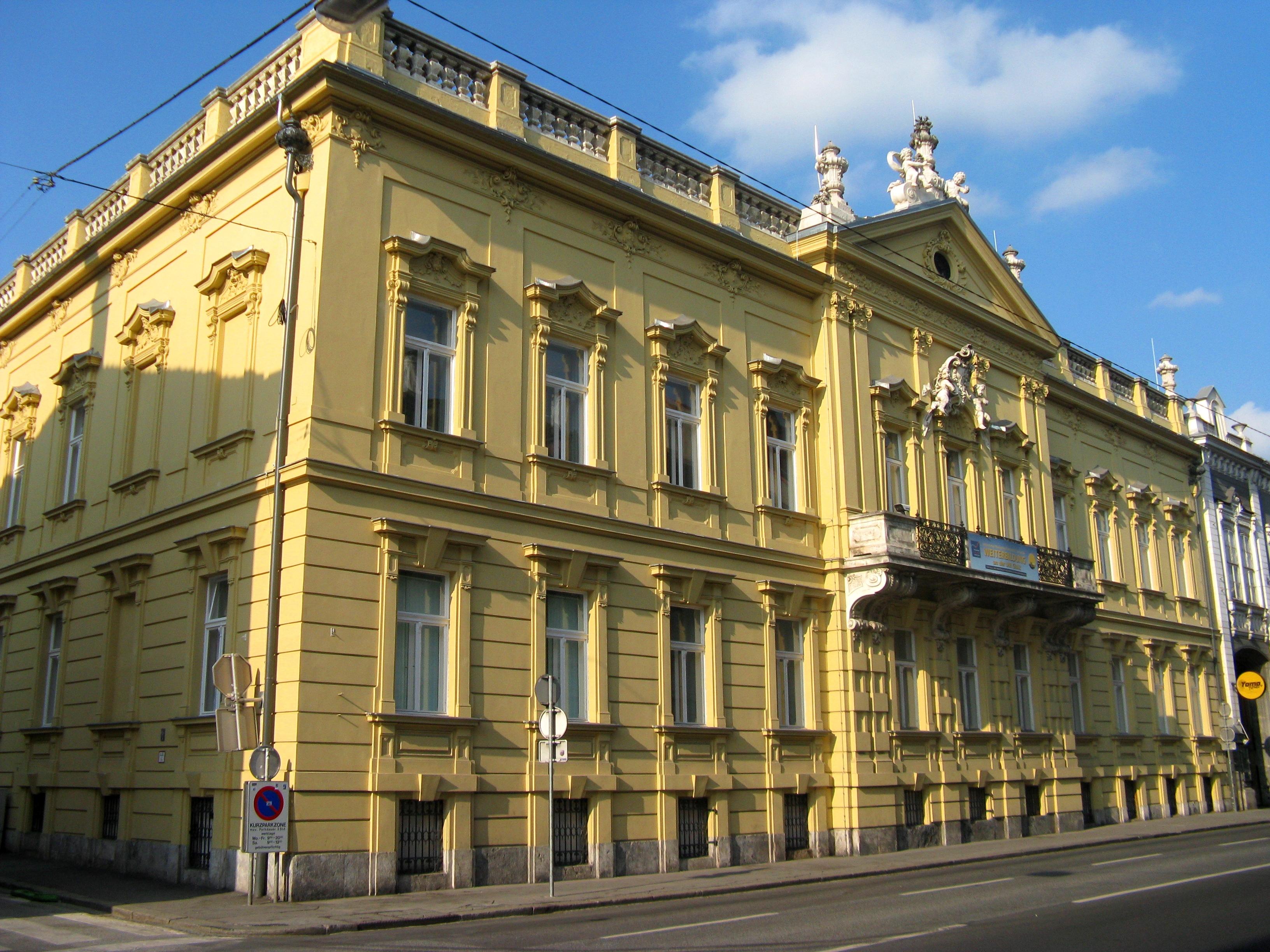 Palais Kottulinsky in der Elisabethstraße