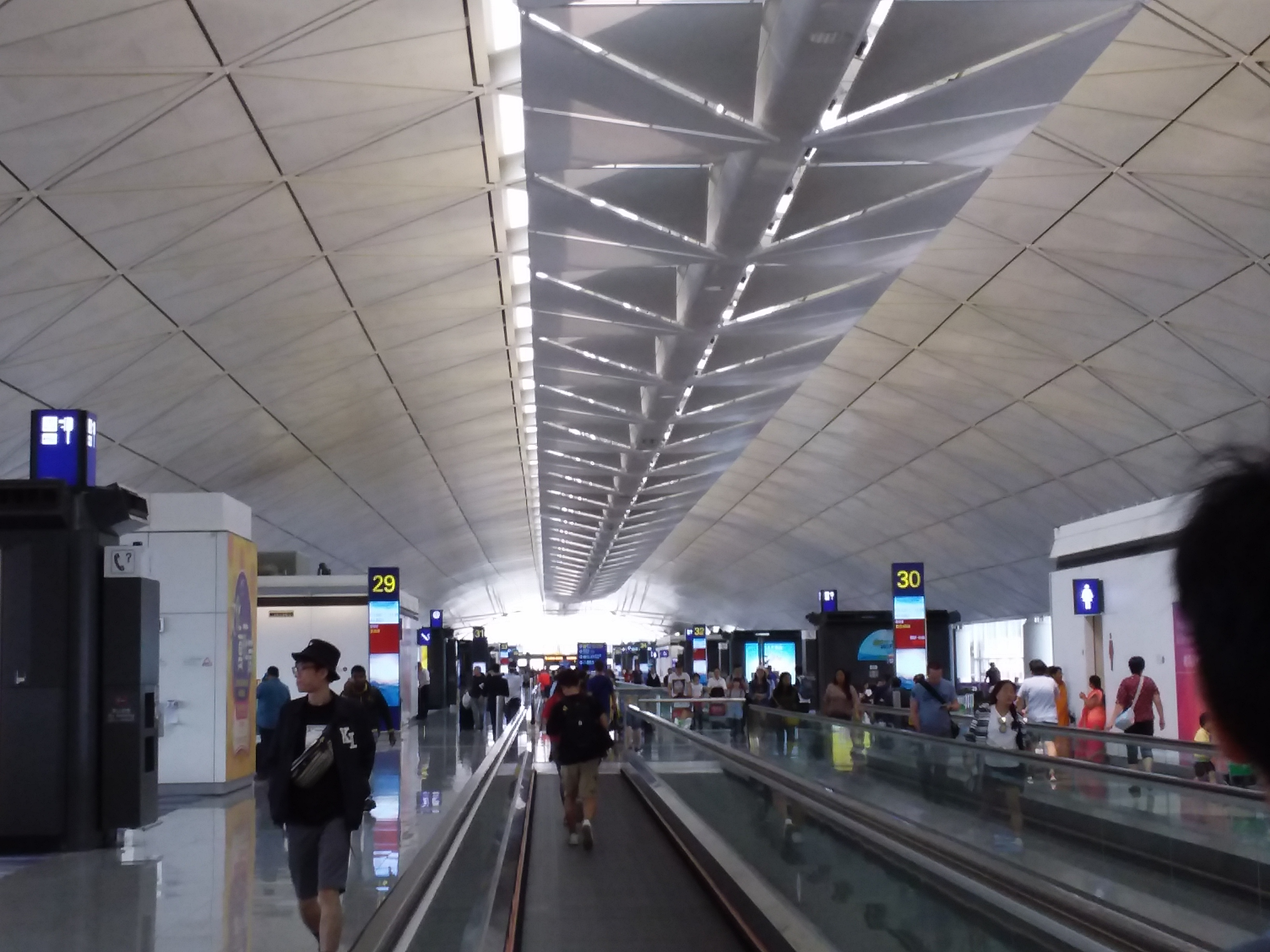 File Hk 赤鱲角 Chek Lap Kok 香港國際機場 Hong Kong Int L Airport Terminal T1 客機離港禁區 Departure Zone August 2019 Ssg 13 Jpg Wikimedia Commons