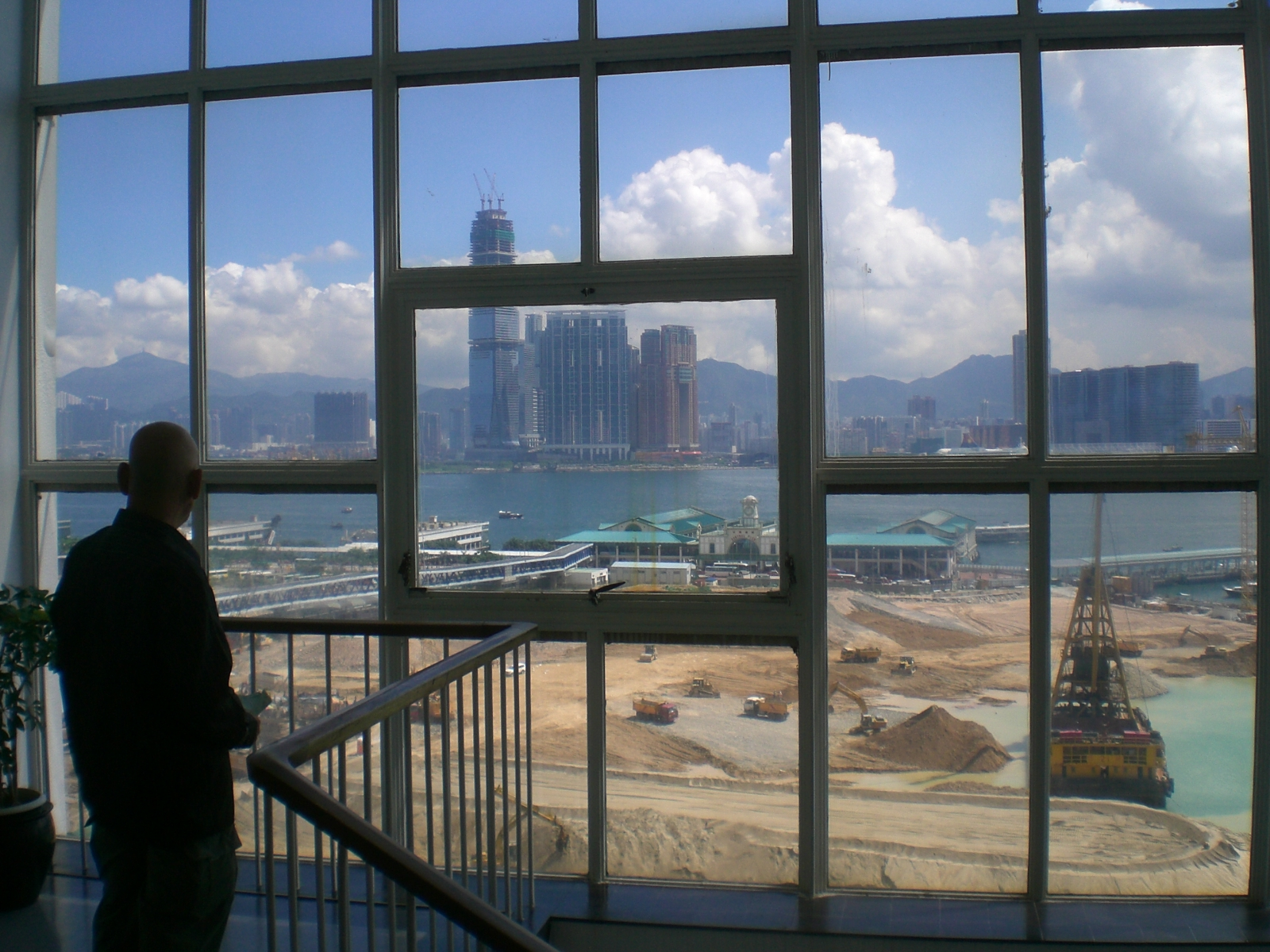 File:HK Central City Hall View Victoria Harbour Central Reclamation ...