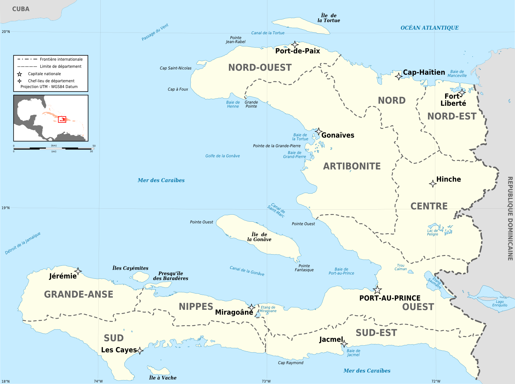 Atlas of haiti wikimedia commons haiti departements map frg gumiabroncs Choice Image