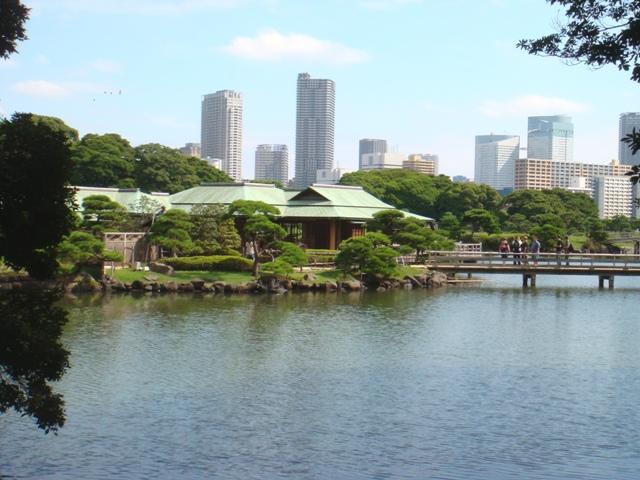 Hamarikyu Gardens, Chuo, Tokyo, Japan