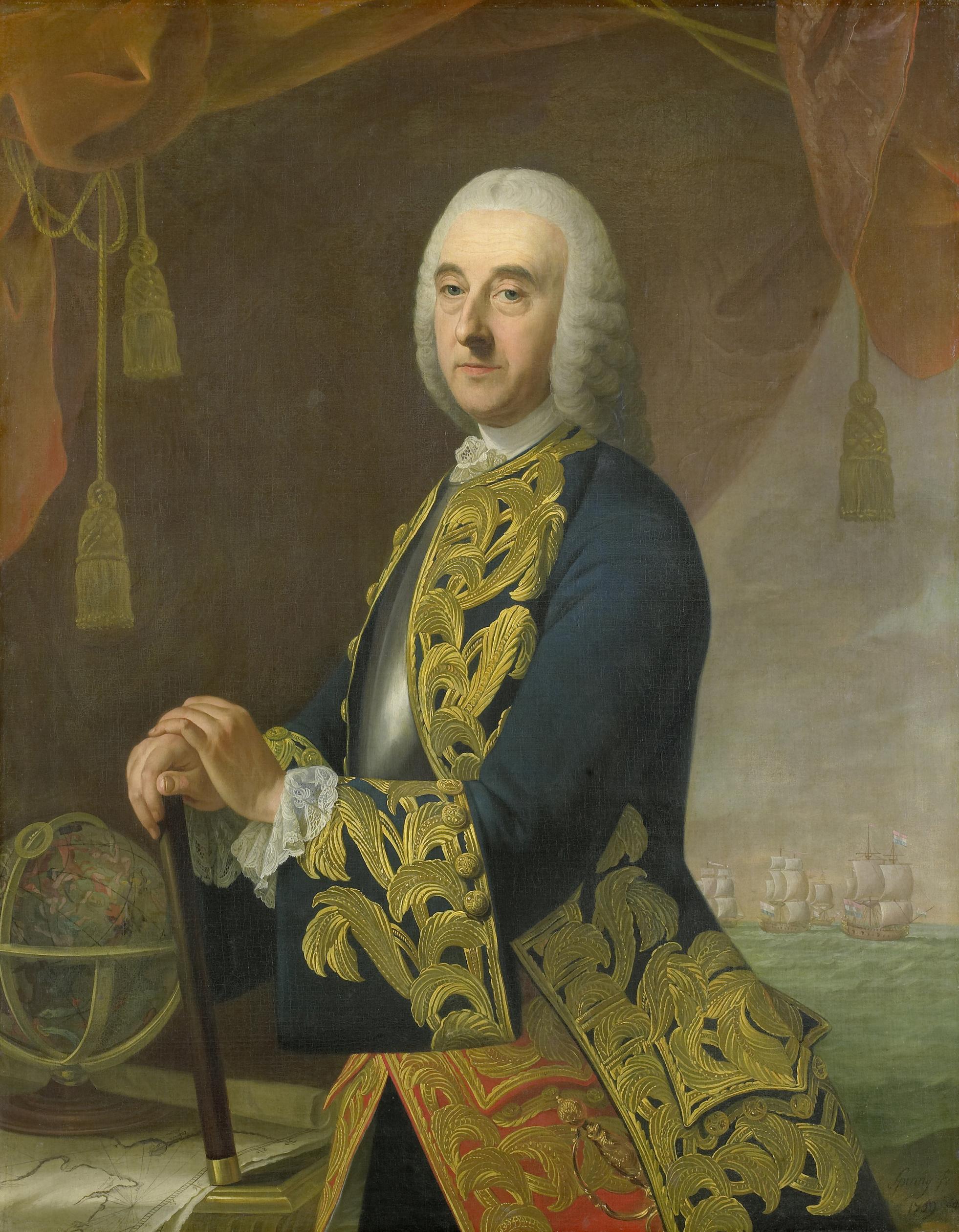 File:Hendrik Lijnslager (1693-1768). Vice-admiraal, zoon van