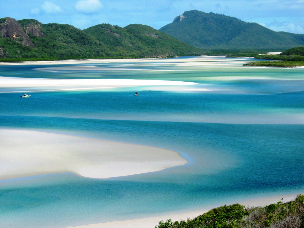 An overview of the australian islands whitsundays