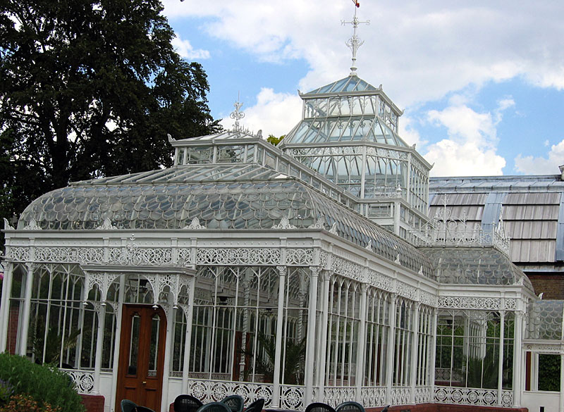 The Horniman Conservatory – one of the country's most beautiful glass houses