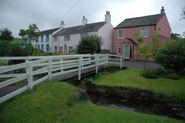 Houses in Caldbeck - geograph.org.uk - 949584