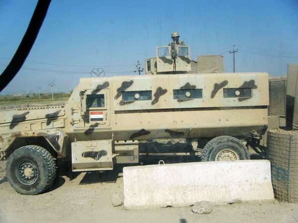 لماذا انتشرت العربات المقاومة للألغام MRAP في الشرق الأوسط؟  Iraqi_MRAP