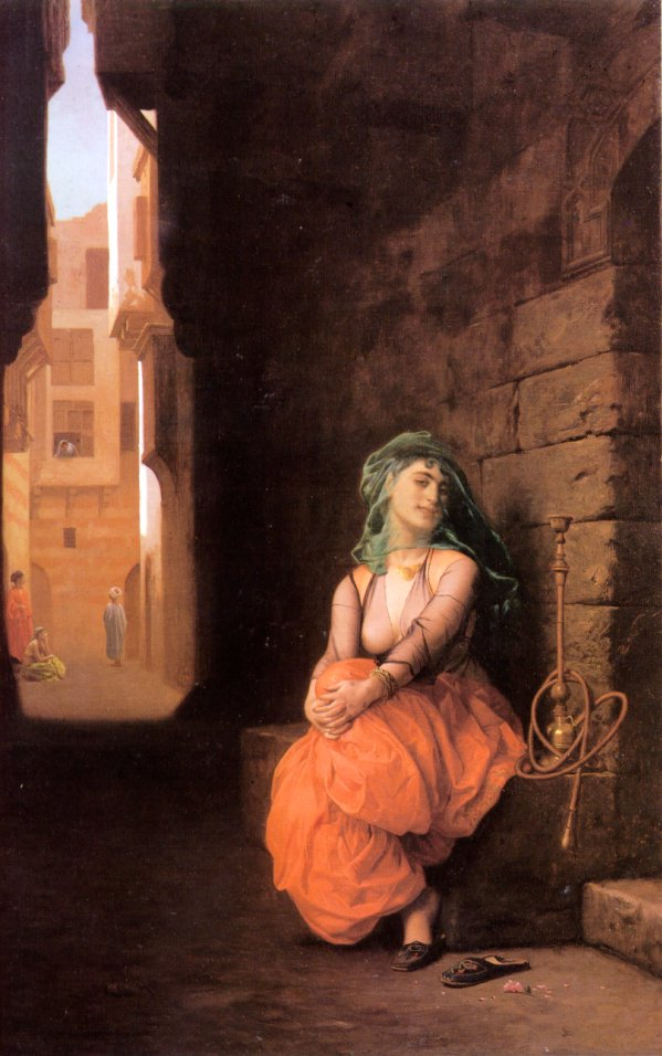 http://upload.wikimedia.org/wikipedia/commons/0/0c/Jean-Leon_Gerome_-_Arab_Girl_with_Waterpipe.jpg?uselang=es