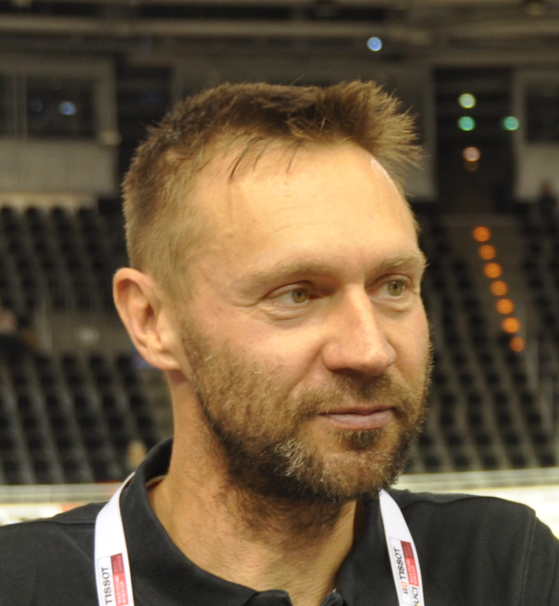 Jens Voigt at the 2018–2019 UCI Track World Cup in Berlin