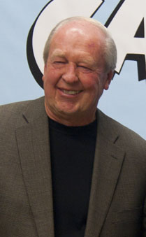 Garfield cartoonist Jim Davis