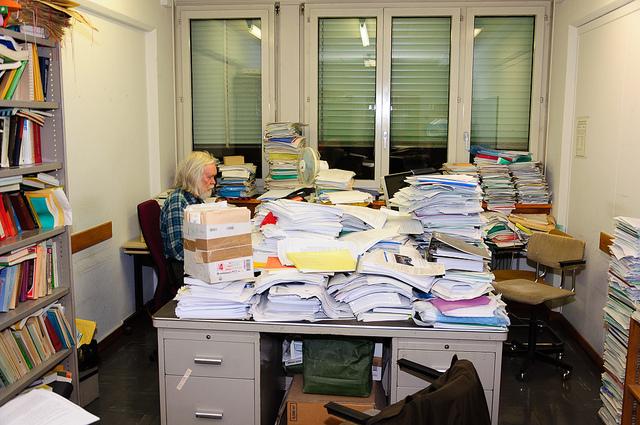 John Ellis John Ellis in His Office at