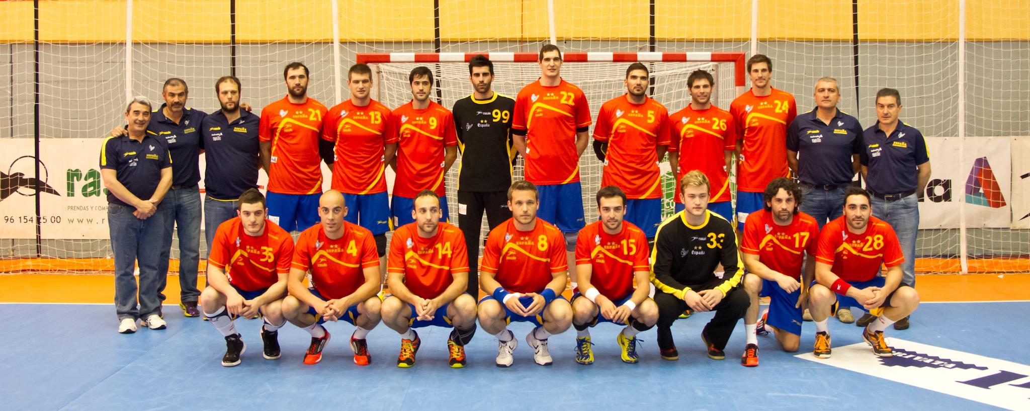 55b7a67e Spanias herrelandslag i håndball – Wikipedia