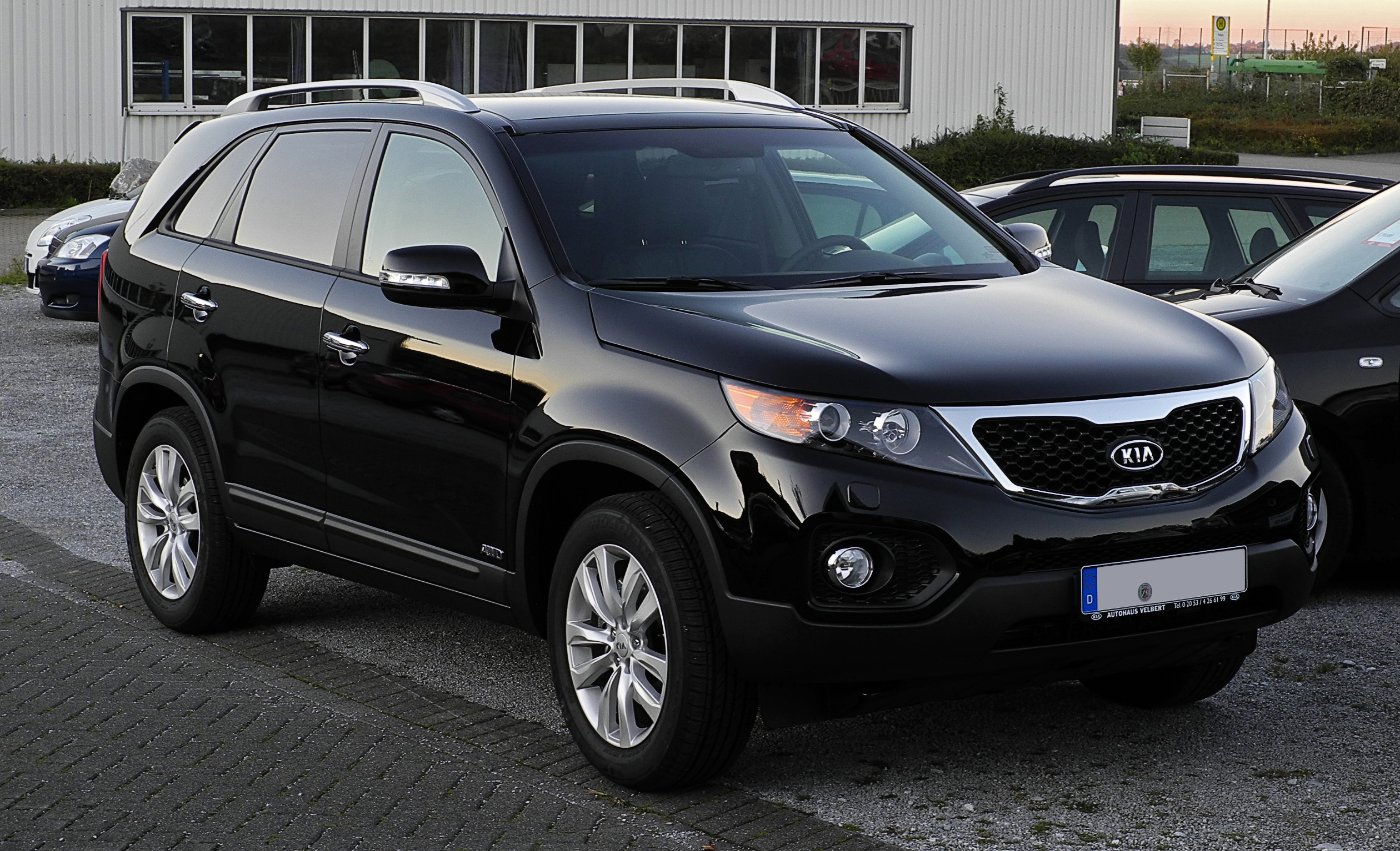 file kia sorento 2 2 crdi awd spirit xm frontansicht. Black Bedroom Furniture Sets. Home Design Ideas