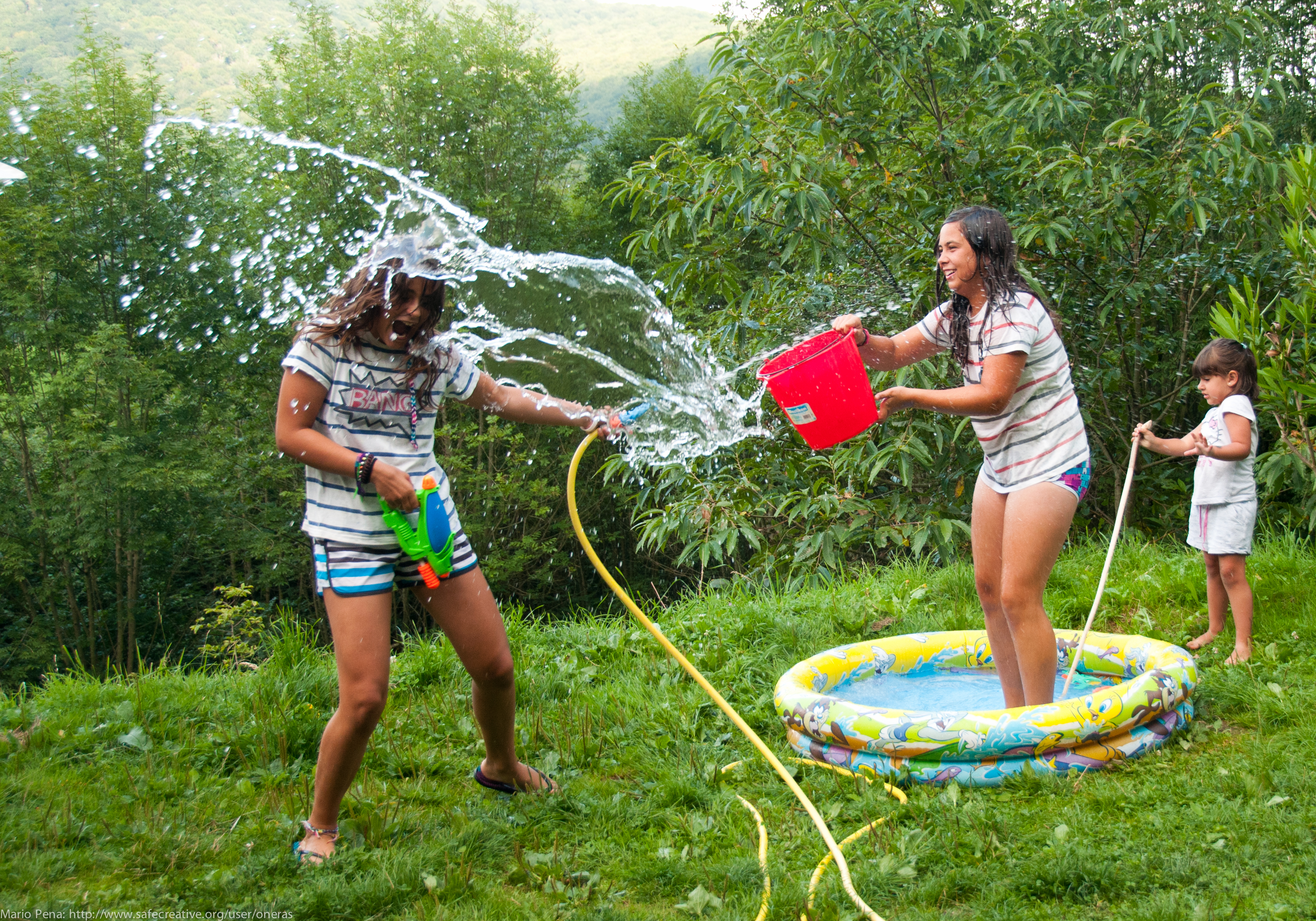 how to make a water fight fun