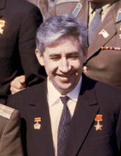 Cosmonaut Konstantin Feoktistov in Star City (1 July 1965)Photo from Russian International News Agency (RIA Novosti)Source: Wikipedia Konstantin_Feoktistov_1965.jpg