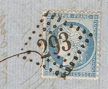 Oblitération par losange gros chiffres u wikipédia
