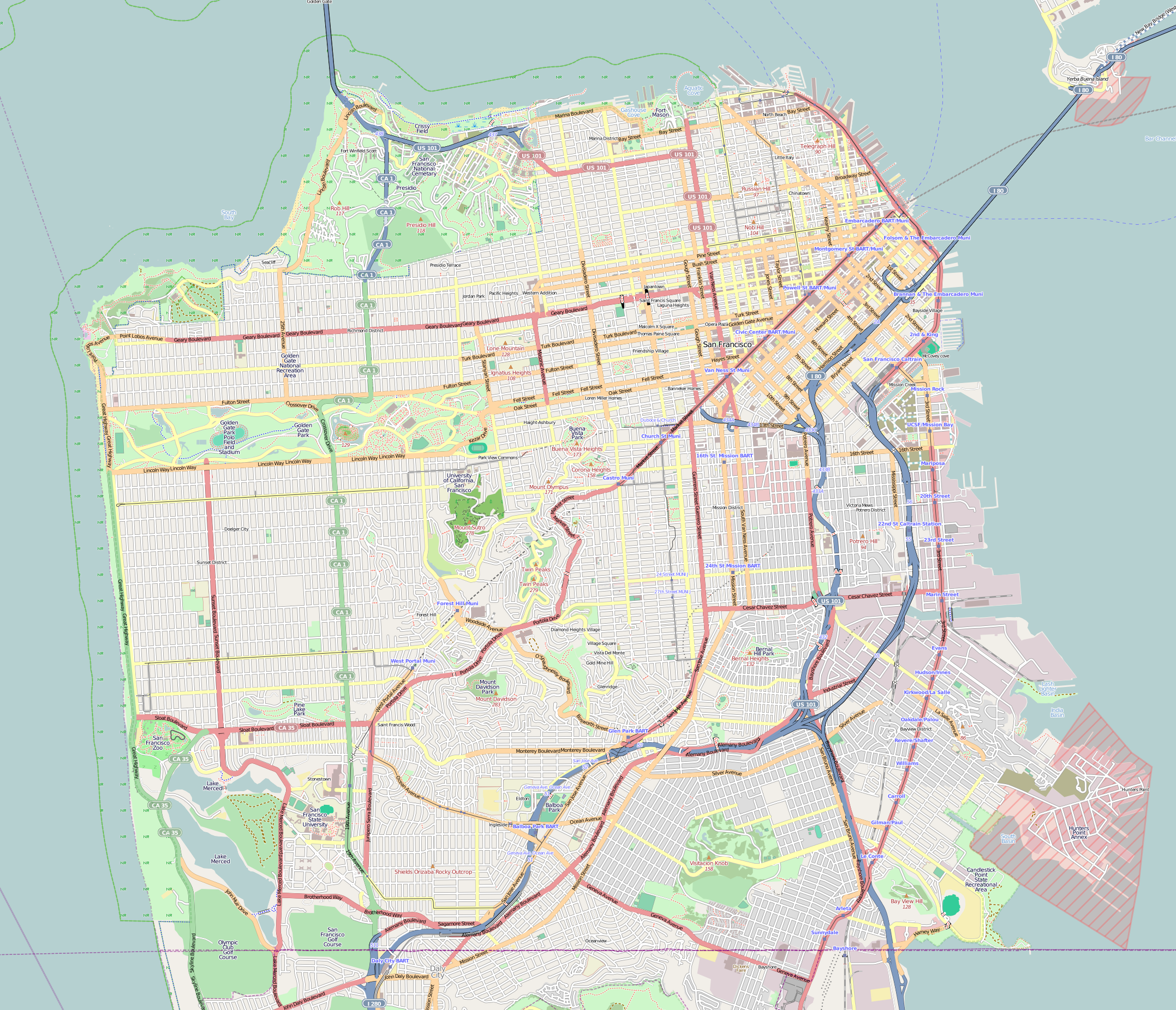 Excelsior District, San Francisco - Wikipedia on chicago map, kansas city map, northern ca map, omaha map, bay area map, detroit map, berkeley map, united states map, sydney australia map, dallas map, new york map, san diego, boston map, california map, sausalito map, london map, new orleans map, usa map, salt lake city map, tokyo map, golden gate park map, las vegas map, los angeles map,