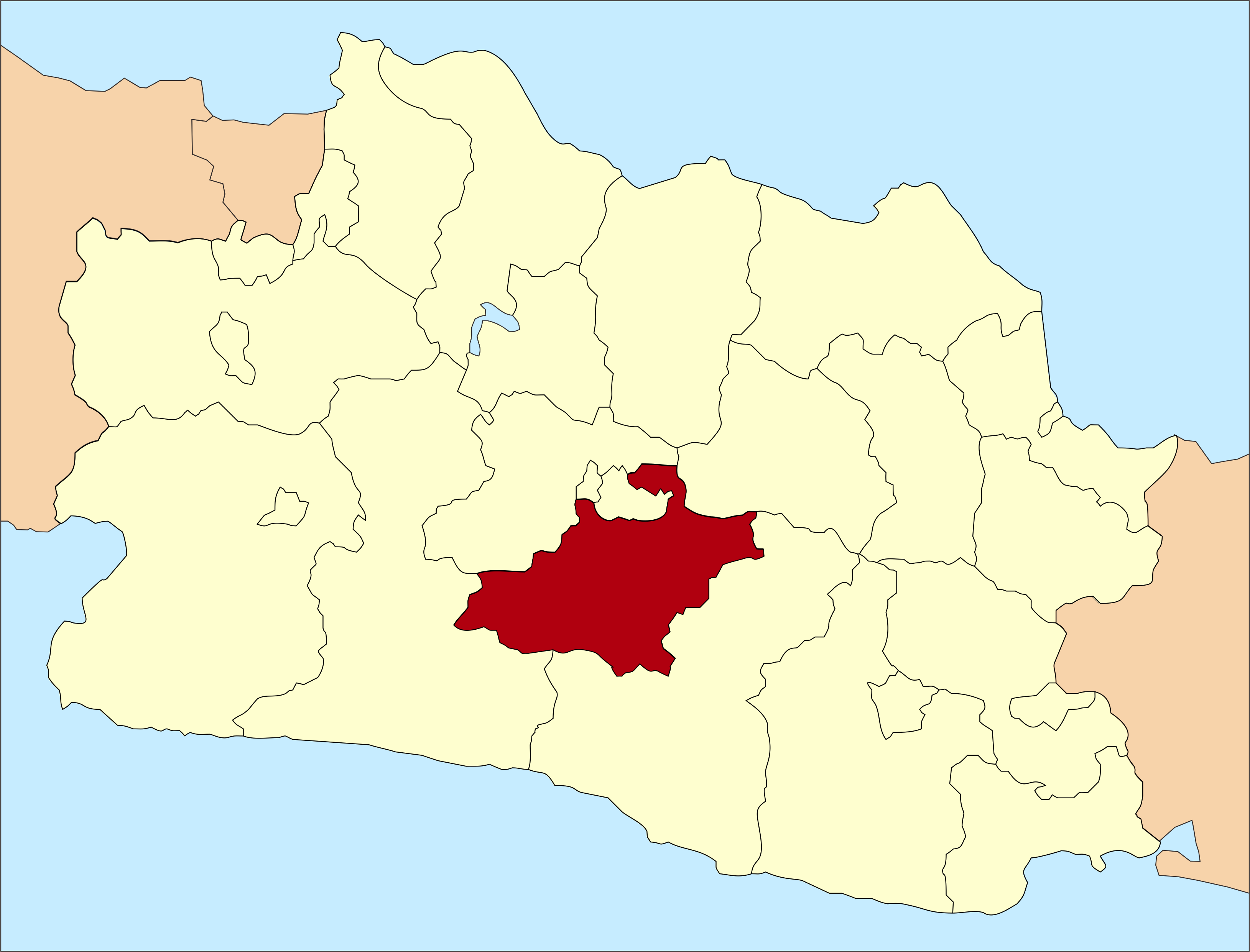 Bandung Regency next to Bandung City in West Java
