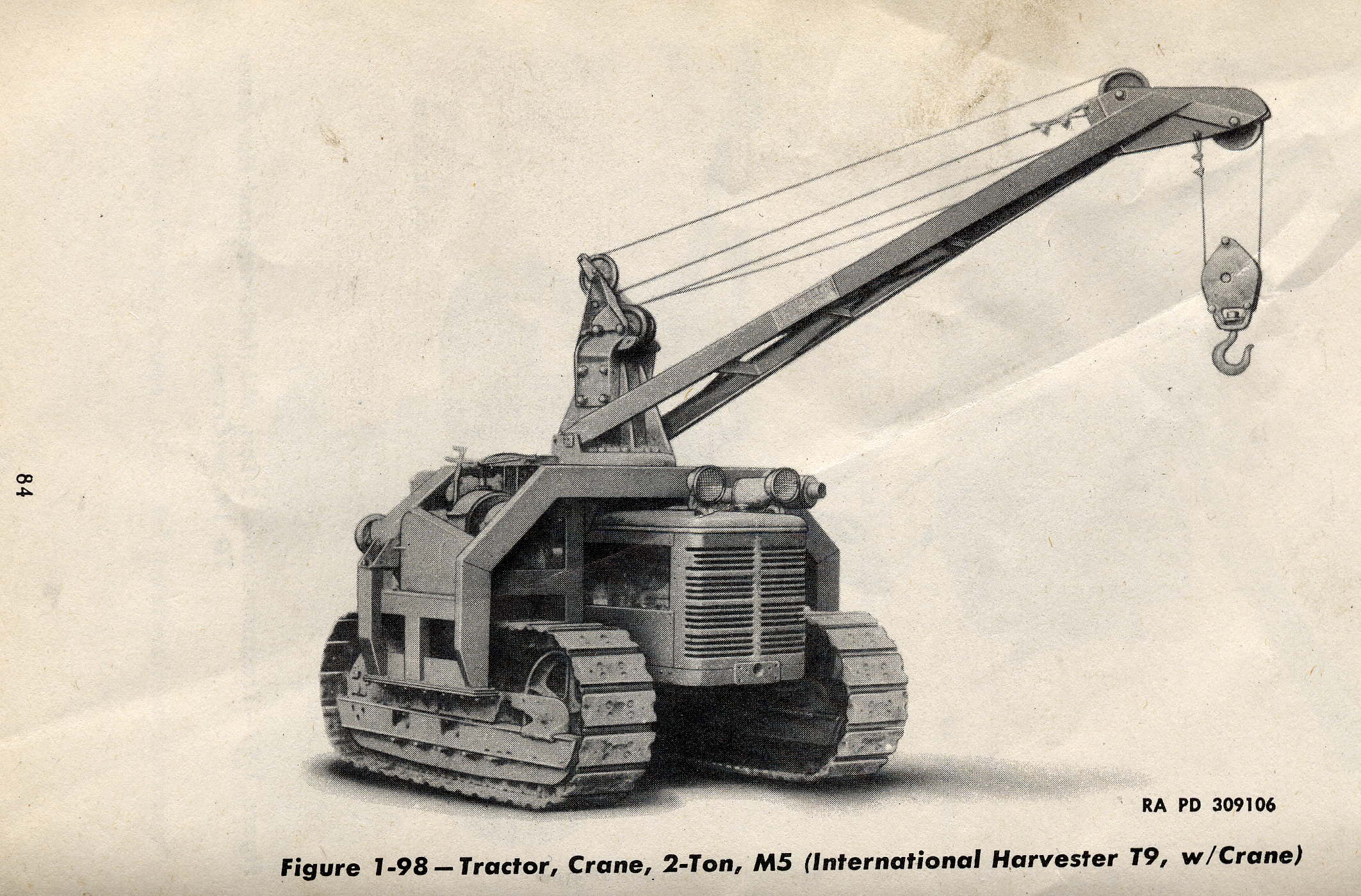 List Of Us Military Vehicles By Supply Catalog Designation Ih 784 Wiring Diagram G99 M5 Tractor Crane