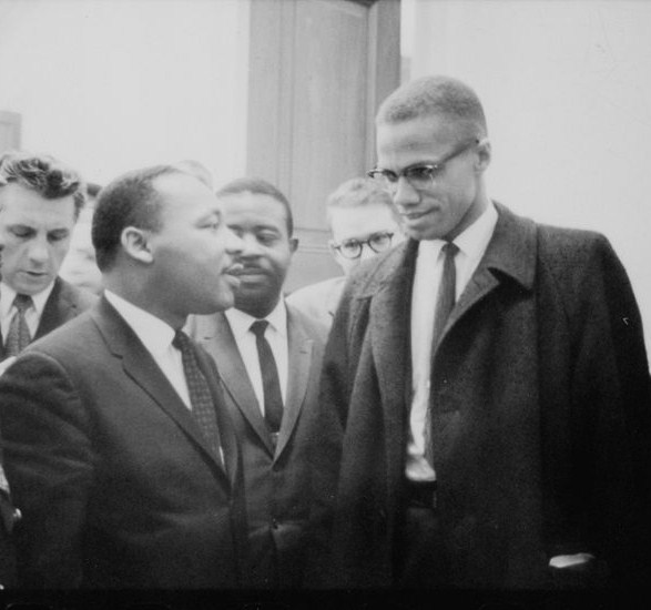 Malcolm X and King